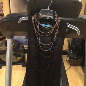 Alice & Olivia tank top with necklace